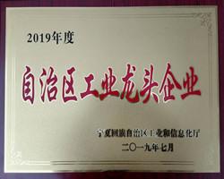 2019年度自治区60家工业龙头企业